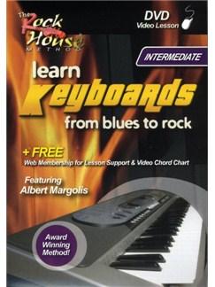 The Rock House Method: Learn Keyboards From Blues To Rock - Intermediate DVDs / Videos | Keyboard