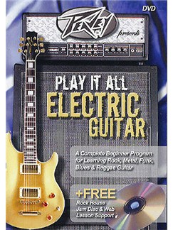 Play It All Electric Guitar DVD And CD CDs and DVDs / Videos | Guitar