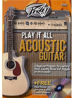 Play It All Acoustic Guitar DVD And CD CDs and DVDs / Videos | Guitar