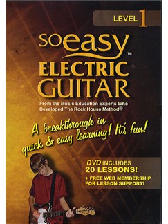So Easy: Electric Guitar Volume 1 DVDs / Videos | Guitar