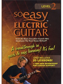 So Easy: Electric Guitar Volume 2 DVDs / Videos | Guitar