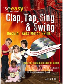 John McCarthy: Clap Tap Sing & Swing Books, CDs and DVDs / Videos | Percussion