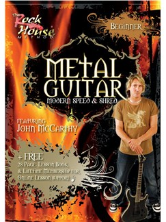 Metal Guitar: Modern, Speed And Shred Featuring John McCarthy - Beginner DVDs / Videos | Guitar