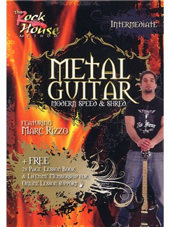 Metal Guitar: Modern, Speed And Shred Featuring Marc Rizzo - Level 1 (Intermediate) DVDs / Videos | Guitar