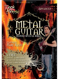 Metal Guitar: Modern, Speed And Shred Featuring Marc Rizzo - Level 2 (Advanced) DVDs / Videos | Guitar