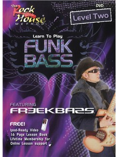 Learn To Play Funk Bass - Level Two (DVD) DVDs / Videos | Bass Guitar