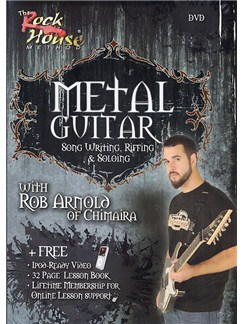 The Rock House Method: Metal Guitar - Song Writing, Riffing And Soloing DVDs / Videos | Electrc Guitar