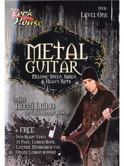 The Rock House: Metal Guitar - Level One (DVD) DVDs / Videos | Guitar