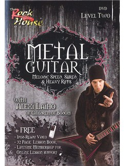The Rock House: Metal Guitar - Level Two (DVD) DVDs / Videos | Guitar