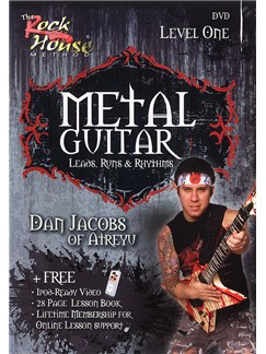 Metal Guitar - Leads, Runs And Rhythms Level One DVDs / Videos | Electric Guitar