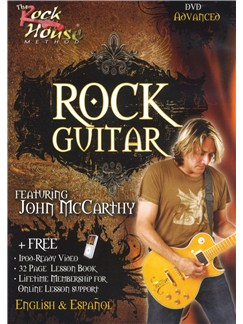 John McCarthy: Learn Rock Guitar (Advanced) DVDs / Videos | Electric Guitar