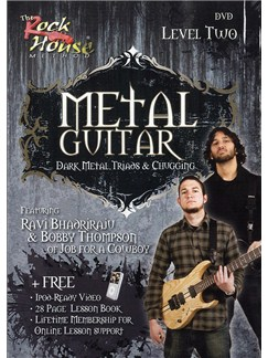 The Rock House Method: Metal Guitar Level Two (DVD) DVDs / Videos | Electric Guitar