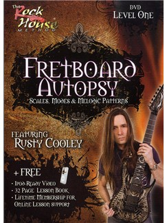 The Rock House Method: Fretboard Autopsy Level One (DVD) DVDs / Videos | Electric Guitar