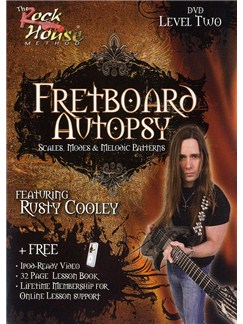 The Rock House Method: Fretboard Autopsy Level Two (DVD) DVDs / Videos | Electric Guitar