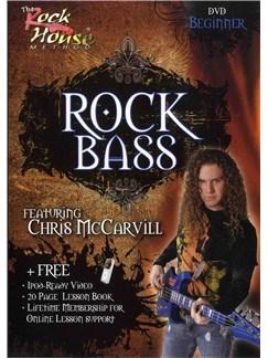 The Rock House Method: Rock Bass for Beginner (DVD) DVDs / Videos | Bass Guitar