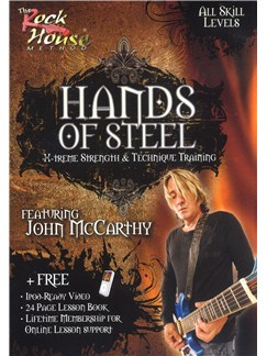 John McCarthy: Hands Of Steel (All Skill Levels) DVDs / Videos | Guitar