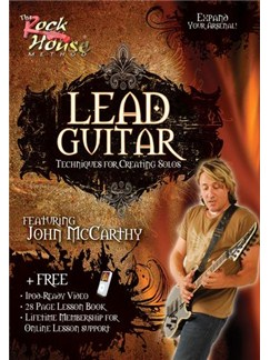 Lead Guitar: Techniques For Creating Solos (DVD) DVDs / Videos | Electric Guitar
