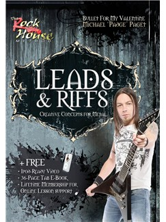 Michael Paget (Bullet For My Valentine): Leads And Riffs - Creative Concepts For Metal DVDs / Videos | Electric Guitar