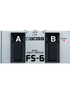 Boss: FS6 Dual Footswitch  | Keyboard