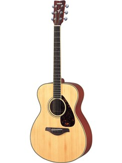Yamaha: FS720 Grand Auditorium Bodied Acoustic Guitar - Natural Instruments | Acoustic Guitar
