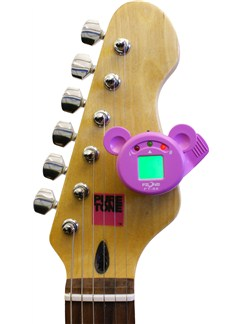 Fzone: FT-88 Mini Chromatic Tuner - Purple  | All Instruments