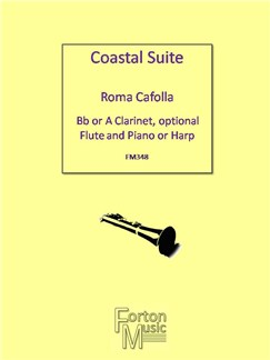 Roma Cafolla: Coastal Suite Books | Clarinet, Piano Accompaniment
