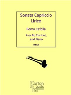 Roma Cafolla: Sonata Capriccio Lirico Books | Clarinet, Piano Accompaniment