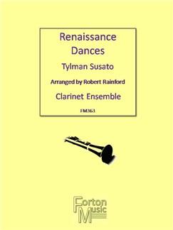 Tylman Susato: Renaissance Dances Books | Clarinet, Ensemble