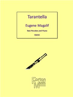 Eugene Magalif: Tarantella Books | Piccolo, Piano Accompaniment