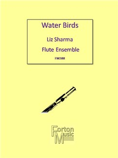 Liz Sharma: Water Birds Books | Flute, Ensemble