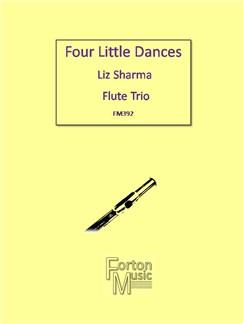 Liz Sharma: Four Little Dances Books | Flute