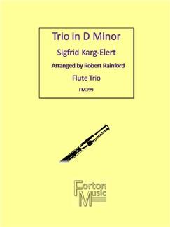 Sigfrid Karg-Elert: Trio In D Minor Books | Flute