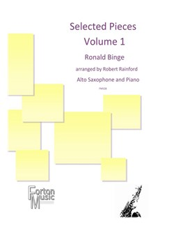 Ronald Binge: Selected Pieces By Ronald Binge - Volume 1 Books | Alto Saxophone, Piano Accompaniment