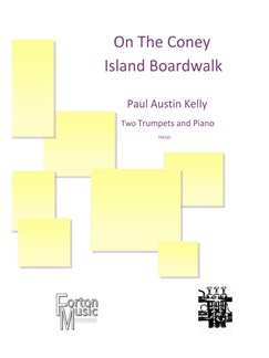 Paul Austin Kelly: On The Coney Island Boardwalk Books | Trumpet, Piano Accompaniment