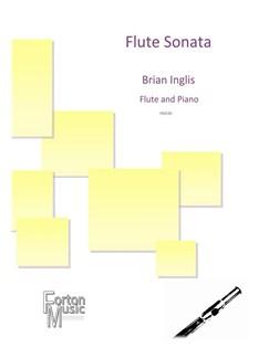 Brian Inglis: Flute Sonata Books | Flute, Piano Accompaniment