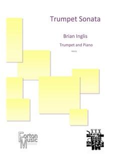 Brian Inglis: Trumpet Sonata Books | Trumpet, Piano Accompaniment