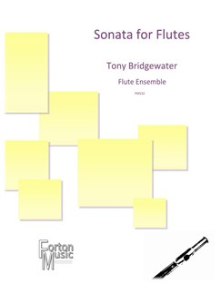 Tony Bridgewater: Sonata For Flutes Books | Flute, Ensemble