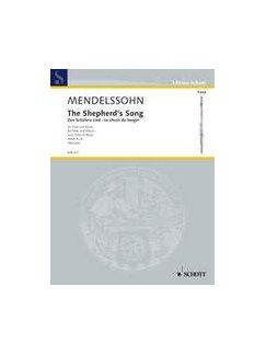 Mendelssohn: The Shepherd's Song Books | Flute, Organ Accompaniment
