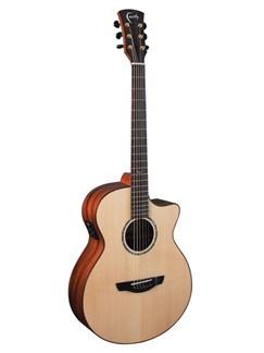 Faith: FVTB Trembesi Venus Cutaway Electro-Acoustic Guitar Instruments | Electro-Acoustic Guitar