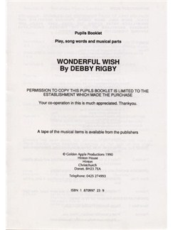 Debby Rigby: Wonderful Wish (Pupil's Book) Books |