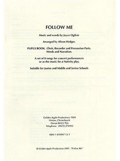 Joyce Oglivie: Follow Me (Pupil's Book) Books | Melody Line & Lyrics