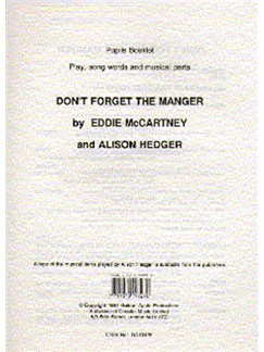 Alison Hedger: Don't Forget The Manger (Pupil's Book) Books |