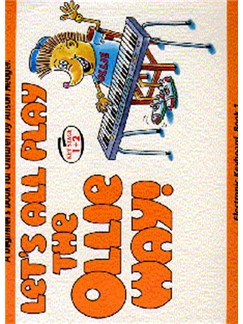 Alison Hedger: Let's All Play The Ollie Way! Book 1 Books | Keyboard
