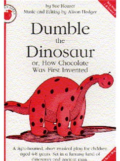 Sue Heaser: Dumble The Dinosaur (Teacher's Book) Libro | Piano, Voz y Guitarra(Diagramas)