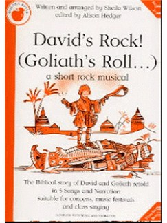 Sheila Wilson: David's Rock! (Goliath's Roll...) (Teacher's Book) Books | Piano, Vocal & Guitar