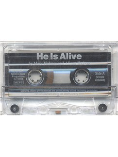 Alison Hedger/Mary Holmes: He Is Alive (Cassette)  | Piano, Voice