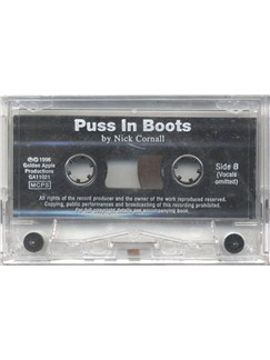 Nick Cornall: Puss In Boots (Cassette)  | Piano, Voice