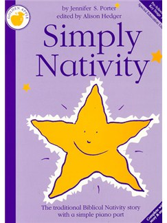 Jennifer S. Porter: Simply Nativity (Teacher's Book) Books | Piano, Vocal & Guitar