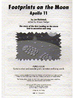 Jan Holdstock: Footprints On The Moon - Apollo 11 (Pupil's Book) Books | Melody Line, Lyrics & Chords, Recorder
