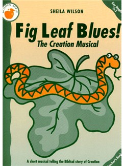 Sheila Wilson: Fig Leaf Blues! (Teacher's Book) Books | Piano, Vocal & Guitar